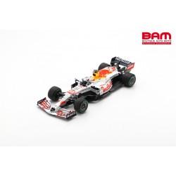 SPARK 18S605 RED BULL Racing RB16B N°33 2ème GP Turquie 2021 Max Verstappen