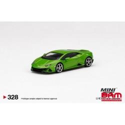 MINI GT MGT00328-L LAMBORGHINI Huracán EVO Verde Mantis