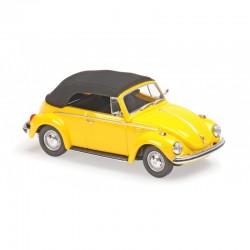 MINICHAMPS 940055030 VW COCCINELLE 1302 CABRIOLET JAUNE 1970