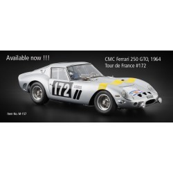 CMC M-157 FERRARI 250 GTO N°172 TDF 1964