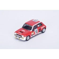 RENAULT 5 Turbo n°16 Tour de Corse 1981 - B. Saby - D. Le Saux - (300 Ex)