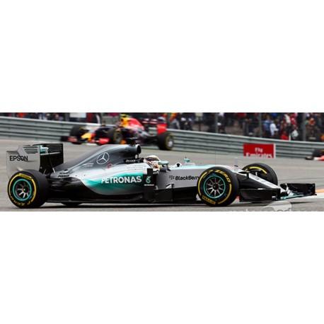 SPARK Y053 Mercedes W06 N°44 Vainqueur USA GP 2015