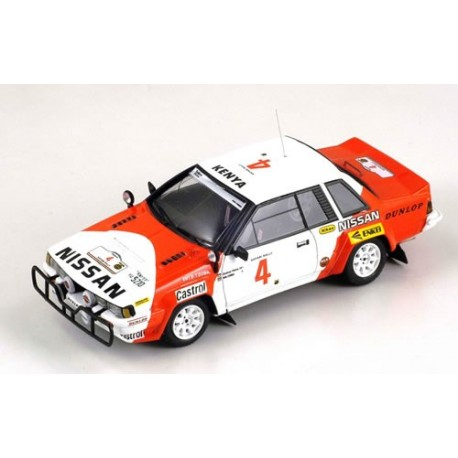 BIZARRE BZ338 NISSAN 240 RS n°4 Safari 1985 Metha - Co