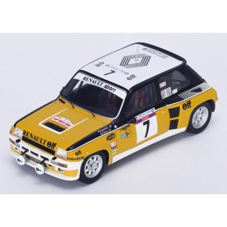 SPARK S3862 RENAULT 5 Turbo n°7 1er Tour de Corse