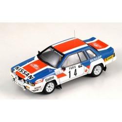 BIZARRE BZ334 NISSAN 240 RS n°14 Rallye M. Carlo 1984