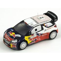 SPARK S3309 CITROEN DS3 WRC N°2 Vainqueur Rallye Jor