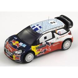 SPARK S3310 CITROEN DS3 WRC N°2 Vainqueur Rallye Acr