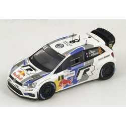 """SPARK S3314 VOLKSWAGEN Polo WRC n°8 """"World Champion"""