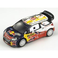 SPARK S3322 CITROEN DS3 WRC N°2 Vainqueur Rallye All