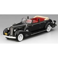 TRUSCALE TSMCE164310 CADILLAC V16 Convertible Sedan 1936 Grey