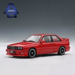 AUTOART 50566 BMW M3 EVOLUTION 1989 ROUGE