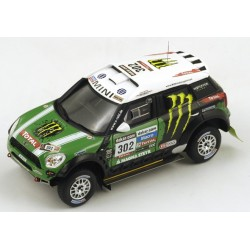 MINI Countryman All4 Racing n° 302 1er D