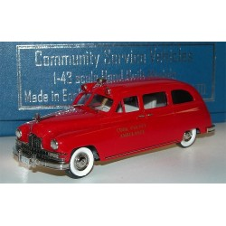 BROOKLIN MODELS CSV08 PACKARD-HENNEY COOK COUNTY AMBULANCE 1.43