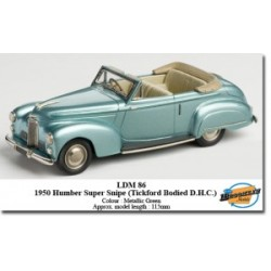 BROOKLIN MODELS LDM86 HUMBER SUPER SNIPE TICKFORD 1950 1.43