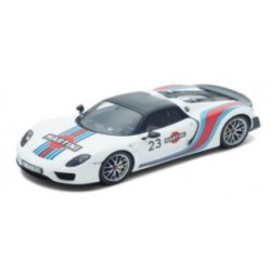 SPARK 08G016 PORSCHE 918 Weissach Package - Martini