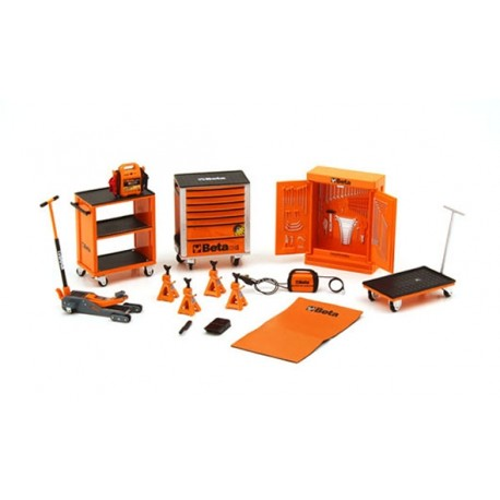 TRUESCALE TSM13AC25 Diorama: Beta Tool Kit 1/18