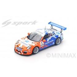 SPARK UK001 PORSCHE Carrera Cup Great Britain Champion 2016 - Dan Cammish - Limitée à 300 ex