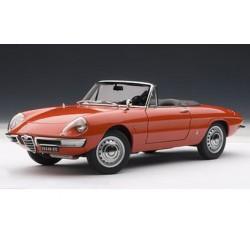 AUTOART 70137 ALFA ROMEO 1600 DUETTO SPIDER ROUGE 1.18
