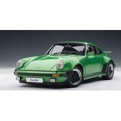 AUTOART 77974 PORSCHE 911 3.0 TURBO VERT METAL 1.18