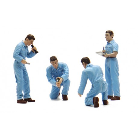 TRUESCALE TSM14AC05 Diorama: Mechanic Figurines Set 1/43