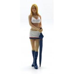 TRUESCALE TSM14AC06 Diorama: Paddock Girl - Catherine 1/18