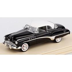 TRUESCALE TSMCE154308 Buick 1949 Roadmaster Riviera Coupe Black