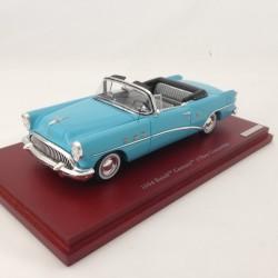 TRUESCALE TSM134306 Buick Century 1954 Malibu Blue w/Grey in