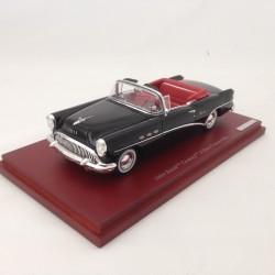 TRUESCALE TSM134307 Buick Century 1954 Black w/ Red interior