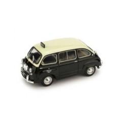 BRUMM R481 FIAT 600D MULTIPLA TAXI DE GENEVE 1960 1.43