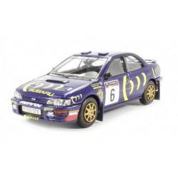 CORGI VA12106 SUBARU Impreza WRC 6 RAC Rally 1995 Burns 1.43
