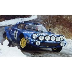 SPARK 87S107 LANCIA Stratos N°4 Vainqueur Monte Carlo