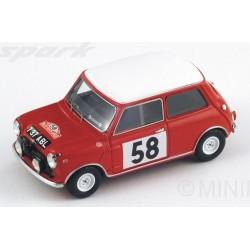 SPARK S1189 MINI MORRIS Cooper N°58 M. Carlo 1963