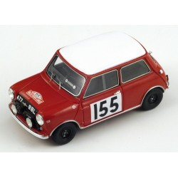 SPARK S1190 MINI MORRIS Cooper N°155 M. Carlo 1963