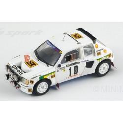 SPARK S1287 PEUGEOT 205 T16 N°10 Monte Carlo 1986 M.