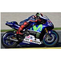 SPARK M12002 YAMAHA YZR M1 N°99 - Team Movistar Yamaha- Vainqueur GP Espagne- Valencia - Champion du Monde 2015- Jorge Lorenzo