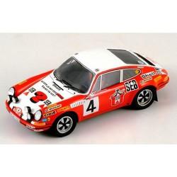 PORSCHE 911S MC72 N°4 LARROUSSE