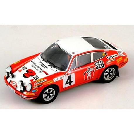 SPARK S1344 PORSCHE 911S MC72 N°4 LARROUSSE