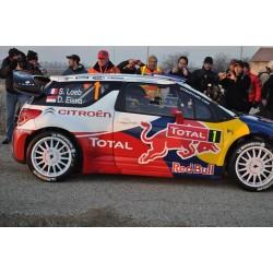SPARK S3326 CITROEN DS3 WRC N°1 Vainqueur M.Carlo 20
