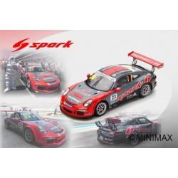 SPARK SJ052 PORSCHE 911 GT3 Cup N°23 Vainqueur Porsche Carrera Cup Japon Fuji 2017- Philip Hamprecht (300 ex)