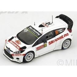 SPARK S4509 FORD Fiesta WRC N°14 11ème MC 2015