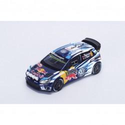 SPARK S4961 VOLKSWAGEN Polo R WRC N°9 2ème M.Carlo