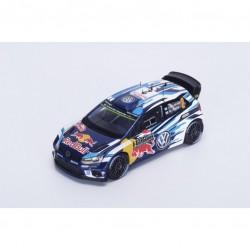 SPARK S4966 VOLKSWAGEN Polo R WRC N°2 M. Carlo 2016