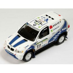SPARK S0492 BMW X5 N°221  9ème  Dakar 2003 L. Alphan