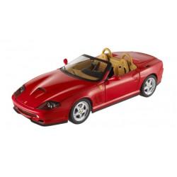 ELITE N2054 FERRARI 550 CABRIOLET ROUGE 1.18
