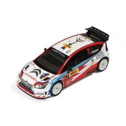 IXO RAM400 CITROEN C4 WRC #7 RALLYE DE CATALOGNE 2009 1.43