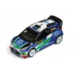 IXO RAM484 FORD FIESTA RS WRC #3 RALLY SUEDE 2012 1.43