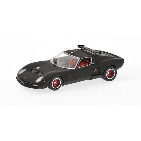 Kyosho 03201mbk Lamborghini Jota Svr Matte Black 1 43 Boutique