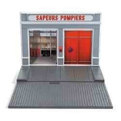 NOREV 120007 DECOR CASERNE DE POMPIERS 1.43