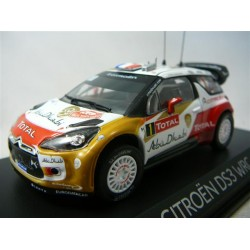 NOREV 155359 CITROEN DS3 WRC 1ERE MC 2013 1.43