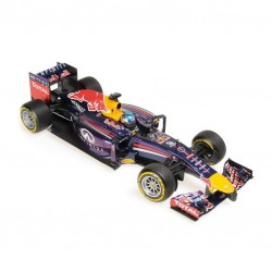 MINICHAMPS 110140001 RED BULL RB10 VETTEL 2014 1.18